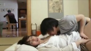 Horny boy fucks with his stepmom while Daddy read the newspaper next door – Pt2 On HDMilfCam.com